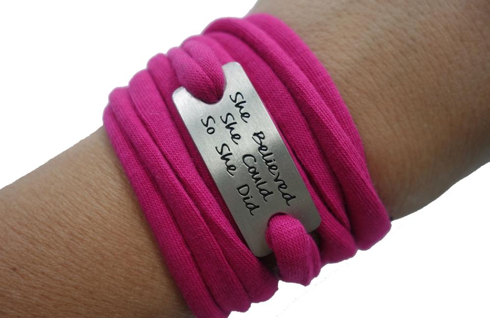 mom running bracelet