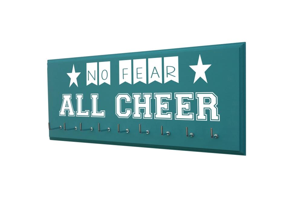 cheerleading cheerleader medal ribbon bow holder hanger display
